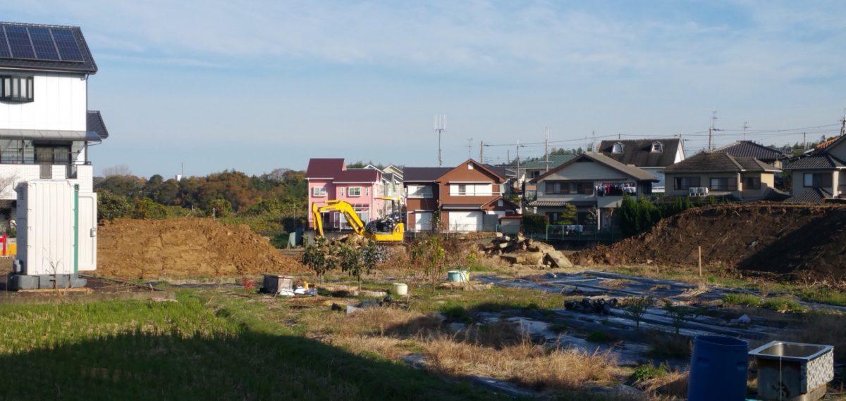 ◇熊取町造成工事が新規スタート◇