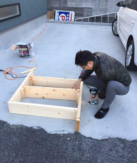 フランホーム和泉中央店の靴棚DIY