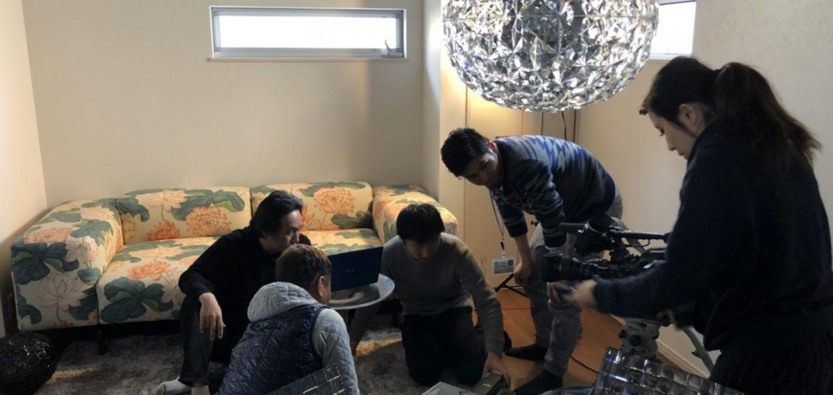 岡山町TOYOキッチンモデルハウスをショートドラマの舞台として協力させていただきました
